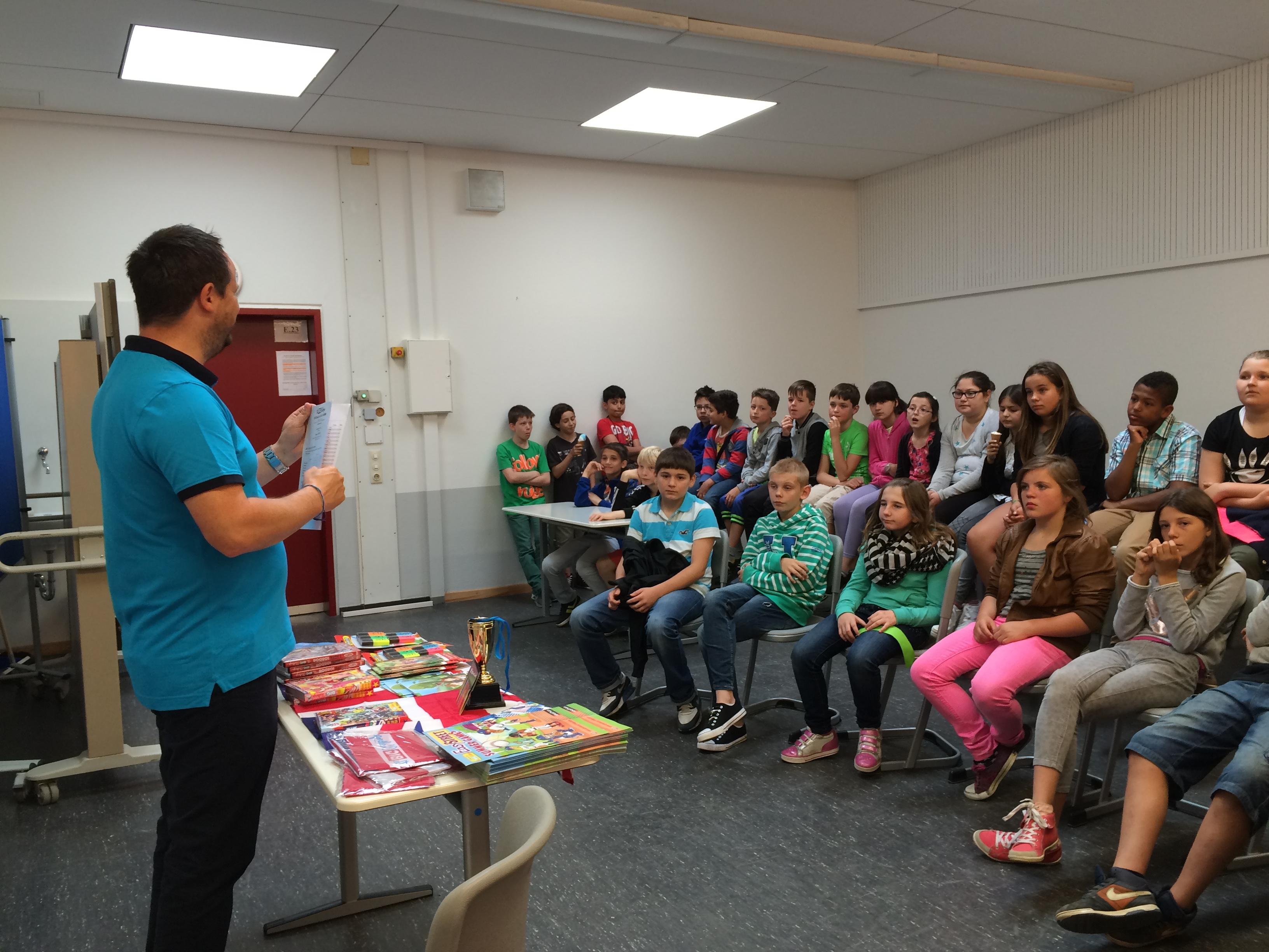 The Big Challenge 2015– Preise für Comenius-SchülerInnen