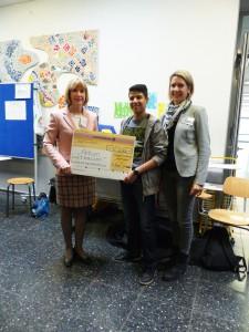 Comenius-Schüler spenden 500 Euro