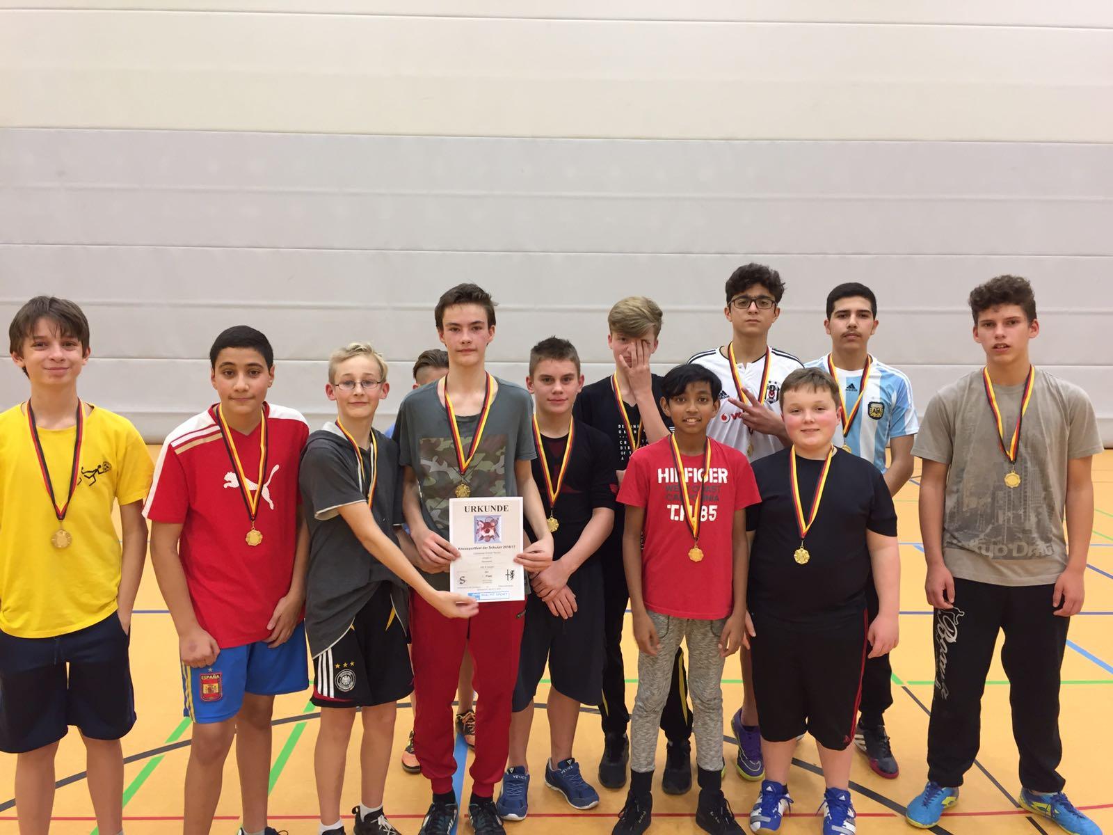 3. Platz bei den Basketball-Kreismeisterschaften