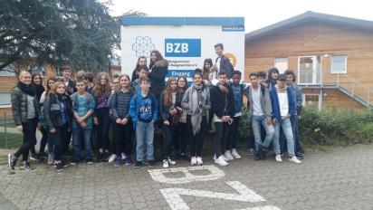 8er Comenius-Schüler/innen im BZB Düsseldorf