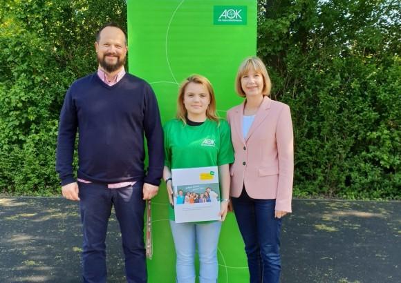 Gesundheitspartnerschaft mit der AOK Rheinland