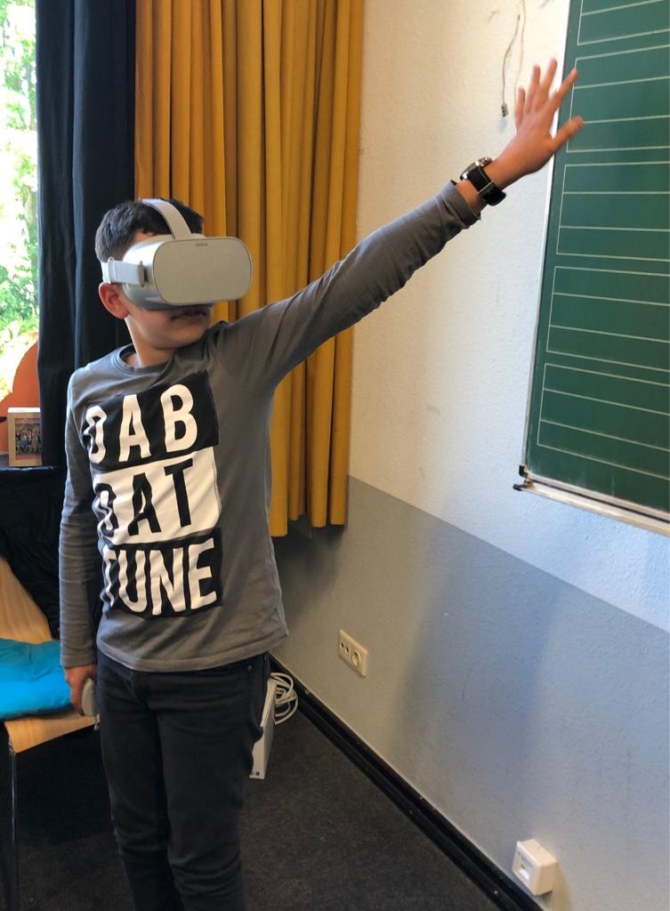 Berufsfelder mit Virtual-Reality erkunden