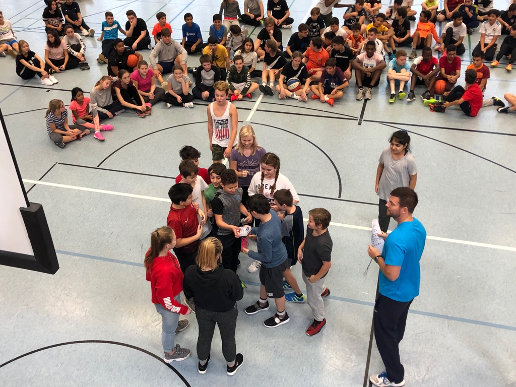 Basketballturnier 6er und 7er Jahrgänge